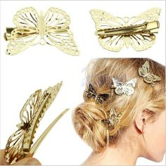 Self-Conscious Solid Colour Hair Bow Clips Girls Hairpins Lovely Bow Barrettes For Women Hot Sell Ladies Hair Accessories Shrink-Proof Girl's Accessories