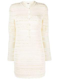 Saint Laurent, Ysl Heels, White Shop, Designing Women, Knit Dress, Ideias Fashion, Women Wear, Boutique, Knitting