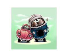 VW cartoon image