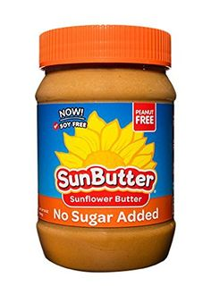 SunButter Sunflower Seed Spread, Natural No-Sugar Added, 16 Ounce (Pack of 6) #deals
