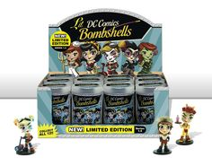 DC Lil Bombshells Series 1.5 | Cryptozoic Entertainment