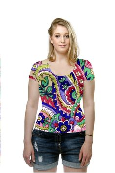 50% off sale!  By Elena Indolfi. All Over Printed Art Fashion T-Shirt by OArtTee