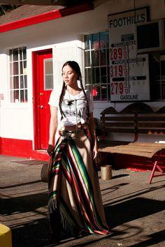 Monica Miyagi | Editorial | rest stop | stella+parker revival | Permanent Glimpse Photography | Western Style