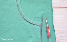 Sew a Flatlock Stitch using your regular serger!