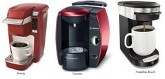 Single Cup Coffee Brewers