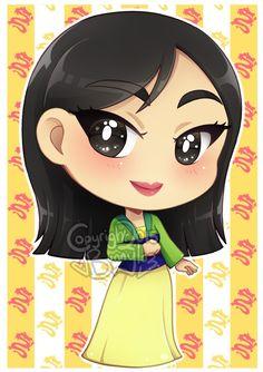 Chibi Disney: Mulan