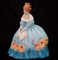 Royal Doulton Figurine Victoria HN3416 Roadshow Events Doll Figure Retired  #RoyalDoulton