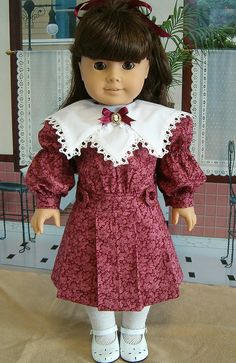 From the Keeper's Archives: Carnberry Christmas Dress for Samantha