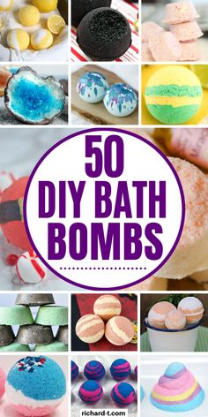 50 Easy DIY Bath Bombs That'll Transform Your Bath Forever 50 DIY bath bomb recipes that you can make at home! Have the BEST ever bath with these DIY homemade bath bombs! Wine Bottle Crafts, Mason Jar Crafts, Mason Jar Diy, Diy Hanging Shelves, Floating Shelves Diy, Homemade Bath Bombs, Diy Bath Bombs, Homemade Soaps, Homemade Products