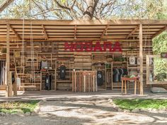 This shop, with its graphic sign and open-air concept, is a love letter to Nosara in retail form. The boutique, which opened in November, offers well-priced clothing, accessories, and jewelry, all with a New Age/surfer vibe. Everything is designed by owner Susana Brown and produced locally
