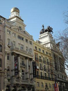 El centro en Madrid