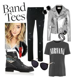 """""""Nirvana"""" by delana-katrice-jarrett on Polyvore featuring Fendi, Yves Saint Laurent, RED Valentino, Topshop and West Coast Jewelry"""