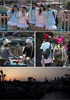 Os japoneses sabem curtir a magia da Disney muito mais do que os americanos e turistas em Orlando. É impressionante!