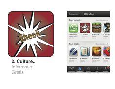 De ontworpen App 'Shock'