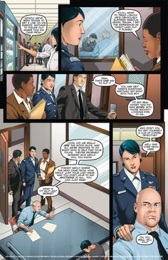 The Young Protectors: Engaging The Enemy Bonus Comic One—Page 6 - Yaoi 911 Webcomics