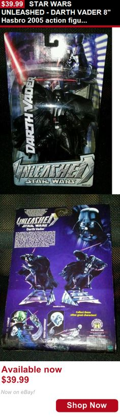 Telescope Mirrors And Prisms: Star Wars Unleashed - Darth Vader 8 Hasbro 2005 Action Figure New In Package BUY IT NOW ONLY: $39.99