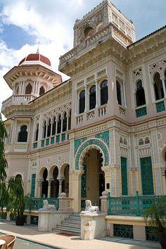 Palacio de Valle in Cienfuegos, Cuba - WOW !