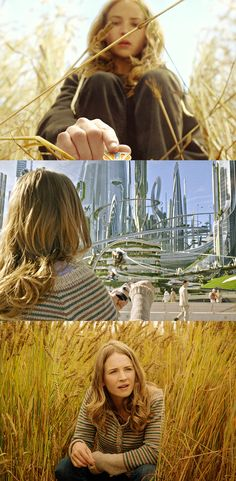 Casey Newton (Britt Robertson) embarks on a mission to unearth the secrets of #Tomorrowland.