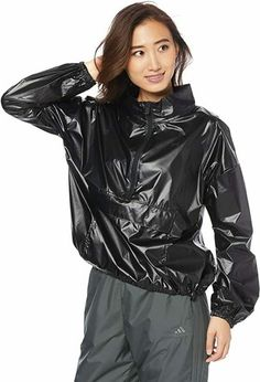Wind Breaker, Blue Jumpsuits, Fitness Fashion, Lamb, Under Armour, Active Wear, Raincoat, Leather Jacket, Asian