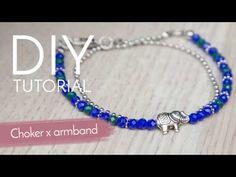 #choker en #armband in #1 #tutorial #DIY #video