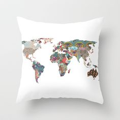 Louis Armstrong told us so Throw Pillow by Bianca Green - $20.00