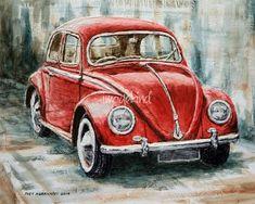 """Volkswagen Beetle"" von Joey Agbayani  - Vicky Ralston - #Agbayani #Beetlequot #Joey #quotVolkswagen #Ralston #Vicky #von - ""Volkswagen Beetle"" von Joey Agbayani  - Vicky Ralston"