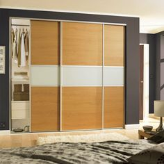 Classic single panel sliding wardrobe doors in Bronze mirror with Silver frame. | Classic Sliding Doors | Pinterest | Sliding wardrobe doors Bronze mirror ... : fineline doors uk - pezcame.com