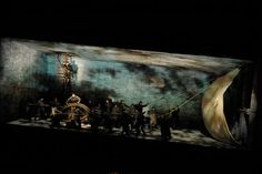 Der Fliegende Hollander (The Flying Dutchman). Canadian Opera Company. Scenic design by Allen Moyer.
