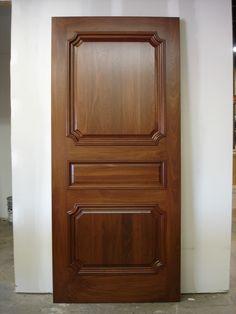 Custom Made Interior Walnut Door Door Design Images, Door And Window Design, Main Entrance Door Design, Wooden Front Door Design, Bedroom Door Design, Door Gate Design, Wooden Front Doors, Door Design Interior, Bedroom Doors