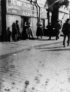 A.F. Andrejeffs kolonialvaruaffär, Norra Esplanaden 7. Okänd fotograf, början av 1900-talet. Helsingfors stadsmuseum.