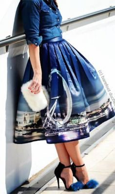 night skyline of London skirt http://rstyle.me/n/mp3krr9te