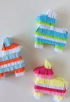 how to: mini piñatas