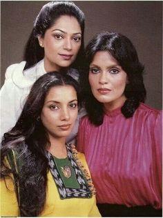 Simi, Zeenat Aman and Shabana Azmi