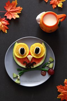 About the cutest breakfast I've ever seen... ~~ Houston Foodlovers Book Club