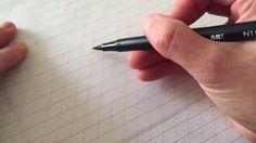 brush pen flick:kick