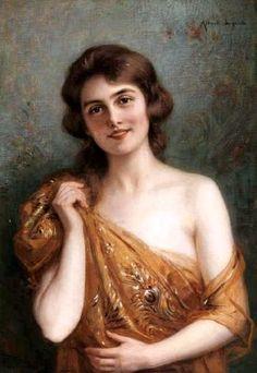 albert lynch | Albert Lynch ( 1851 - 1912 ) # | Woman portrait painting