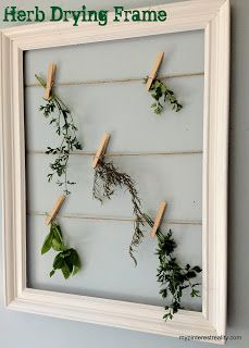 DIY Herb Drying Frame