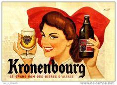 bière - Kronenbourg Le grand nom des bières d´Alsace
