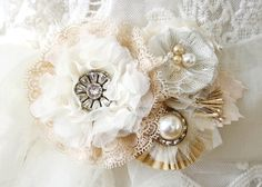 Boda cinturones y fajas Custom hecho tela flor por rosyposydesigns