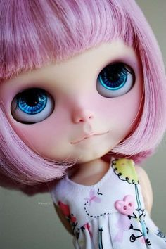 Blythe dolls images, image search, & inspiration to browse every day. Image Hd, Barbie, Gothic Dolls, Creepy Dolls, Little Doll, Cute Dolls, Doll Face, Big Eyes, Blythe Dolls