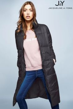 Buy Jdy Quilted Long Coat online today at Next: Slovakia