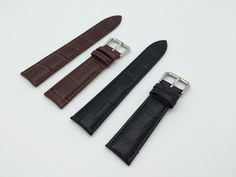 >> Click to Buy << 22mmHot New Man Woman Watch Belt Genuine Leather Black Brown Grain Strap For Clock Watch Band Pin Buckle Free Shipping #Affiliate