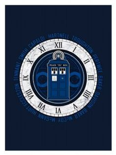 TARDIS Clock Legacy