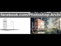 Photoshop Post Production | Architecture Visualization Rendering P.2 - YouTube