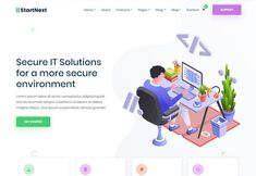 StartNext is another best startup wordpress themes. It has numerous unique design variations for its elements that combine to give you an excellent site.#startup #wordpress #theme Form Builder, Admin Panel, Professional Website, Start Up Business, Lorem Ipsum, Wordpress Theme, The Incredibles, Unique, Blog