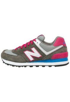 Sneakers New Balance WL574 - Sneakers laag - grey/pink Grijs: € 89,95 Bij Zalando (op 21-2-15). Gratis bezorging & retournering, snelle levering en veilig betalen!