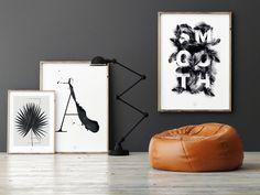 Originaldruck - Kunstdruck Poster / Smooth - ein Designerstück von typealive bei DaWanda