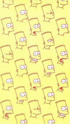 Bart Simpson wallpaper for iPhone Tumblr Wallpaper, Cool Wallpaper, Pattern Wallpaper, Wallpaper Backgrounds, Simpson Wallpaper Iphone, Iphone Wallpaper, Bart Simpson Tumblr, Whatsapp Background, Backrounds