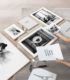 Learn all the tips and tricks to create a perfect gallery wall above your sofa! Read more at Desenio. Country Wall Art, Wall Art Quotes, Fashion Room, Quote Posters, Wall Art Designs, Home Decor Wall Art, Magazine Design, Room Interior, Good Music