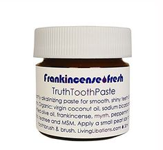 Living Libations  Organic  Wildcrafted Frankincense Fresh Truth Toothpaste 15 ml -- Click image to review more details.